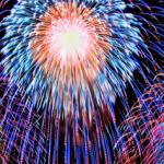 打ち上げ花火の色、形、音の英語表現サンプル