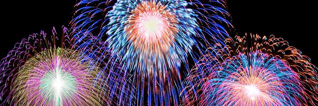 打ち上げ花火(Fireworks)